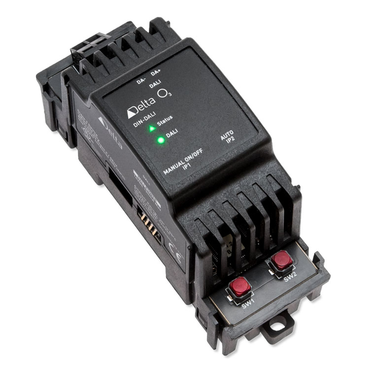Decrease your system's complexity with the O3 DIN-DALI Module